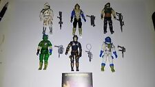 GI JOE VINTAGE BATTLE FORCE 2000 LOTE COMPLETO ARAH GIJOE G.I.JOE