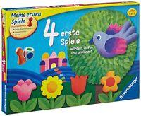 Ravensburger Kinderspiele 4 Erste Spiele Spielesammlungen Brettspiele Spielzeug