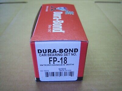 Dura-Bond Engine Camshaft Bearing Set FP-18T; STD for Ford 302//351W SBF