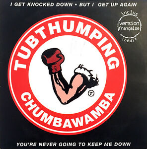 Chumbawamba-CD-Single-Tubthumping-France-VG-VG