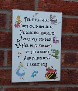 shabby-vintage-chic-alice-in-wonderland-nursery-plaque-sign