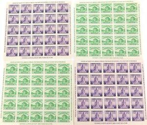 1933-CHICAGO-USA-4-x-IMPERF-MINT-HIGH-GRADE-MINI-SHEETS-CENTURY-of-PROGRESS-034