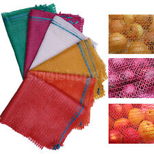 Red Strong Net Woven Sacks Mesh Bags Log Kindling Wood Logs Vegetables WR7