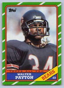 1986-WALTER-PAYTON-Topps-Football-Card-11-CHICAGO-BEARS-034-Sweetness-034