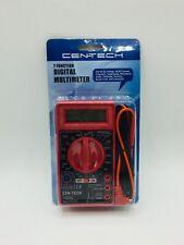 Cen Tech 7 Function Digital Multimeter Electrician Tools