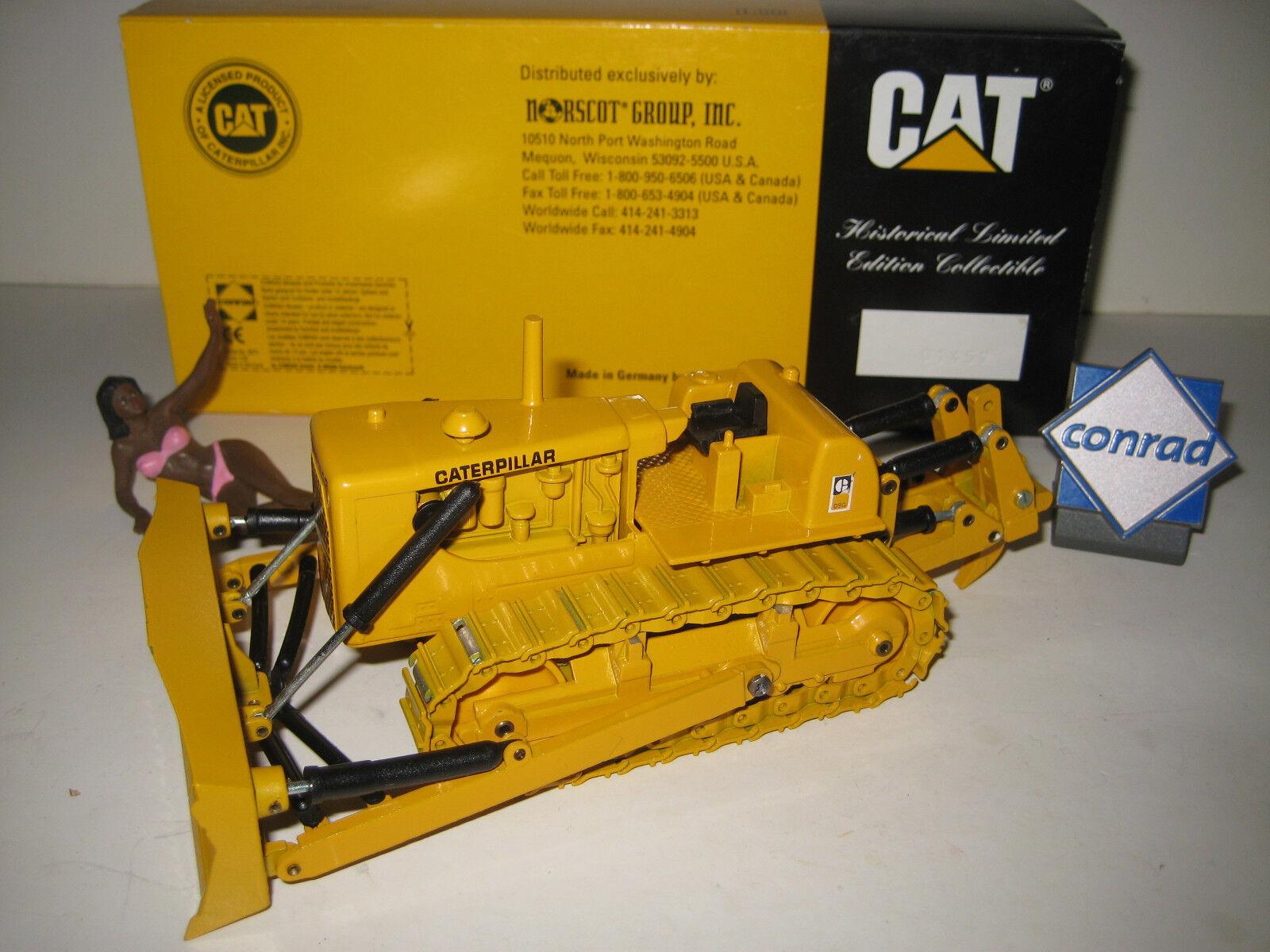 CATERPILLAR D 9 G PLANIERRAUPE RIPPER  2874.1 CONRAD 1 50 OVP  | Neuheit Spielzeug
