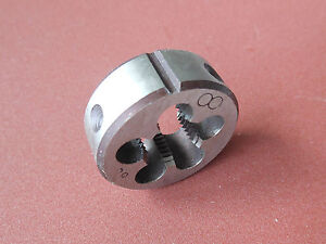 New1pc Metric Right Hand Die M10X1.25mm Dies Threading Tools 10mmX1.25mm pitch
