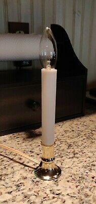 3 Electric Window Candle Lamp Light 120v With Automatic