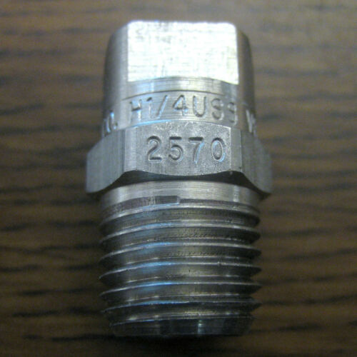 Spraying Systems VeeJet H1//4USS Spray Nozzle 2570