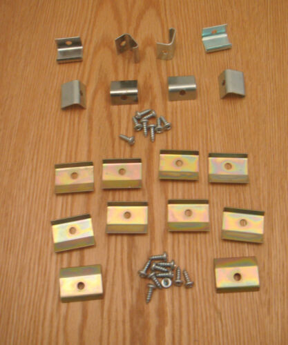 1955 1956 1957 CHEVY STATION WAGON CURVED GLASS RETAINERS CLIPS  New ** USA MADE