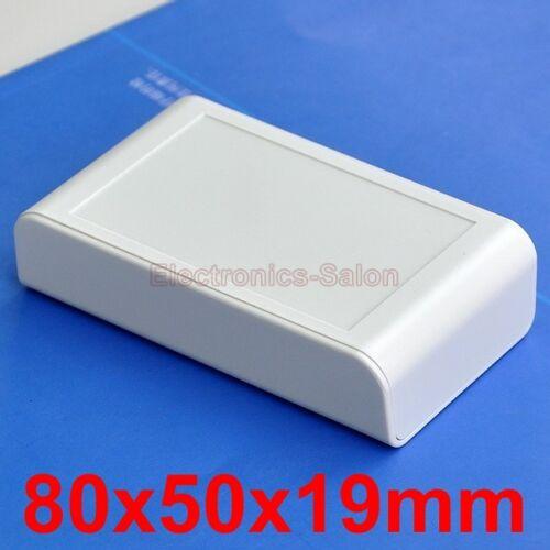 Full White 1pcs Desktop Instrumentation Project Enclosure Box Case 80x50x19mm.