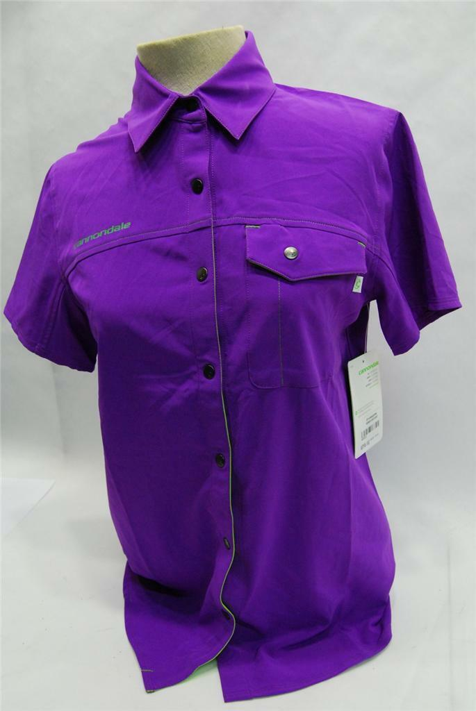 Cannondale donna negozio Shirt  Medium  viola  3F141MPRP  nuovo