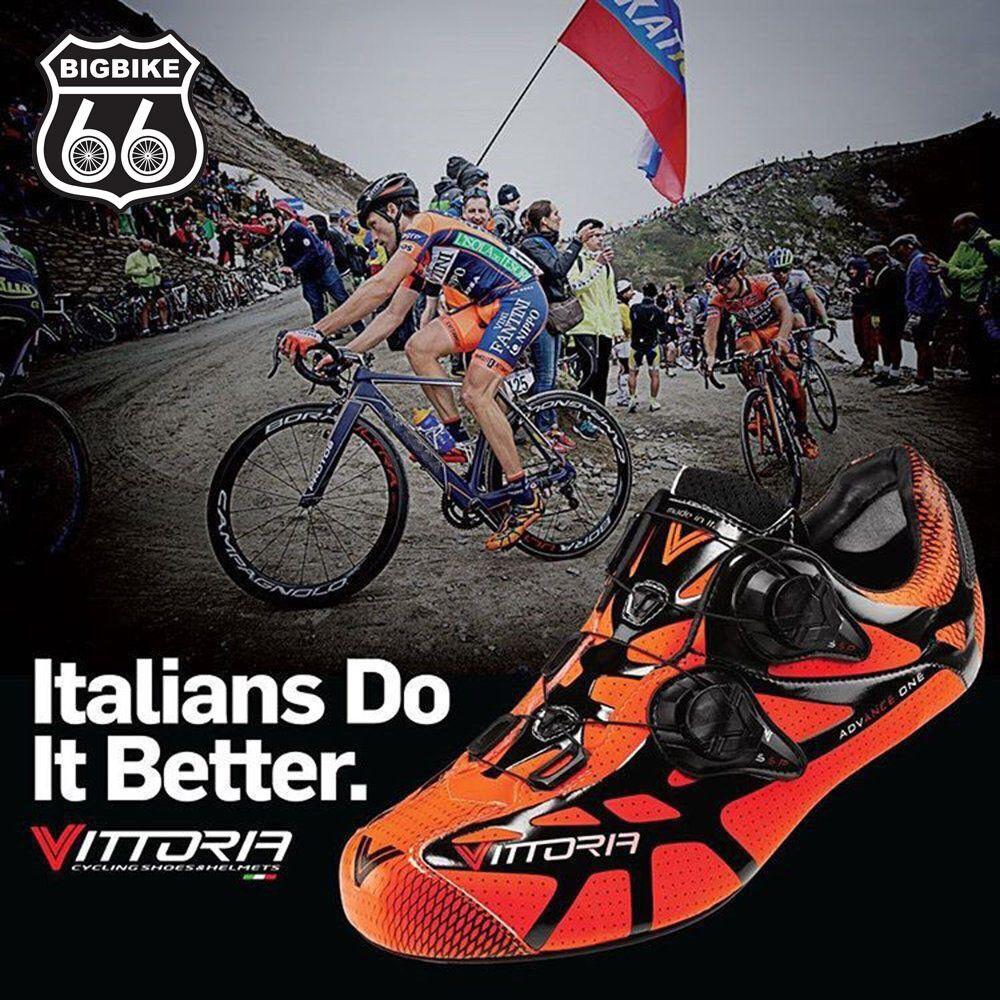 Vittoria Ikon Zapatos de Ciclismo (naranja) - Tamaño  41