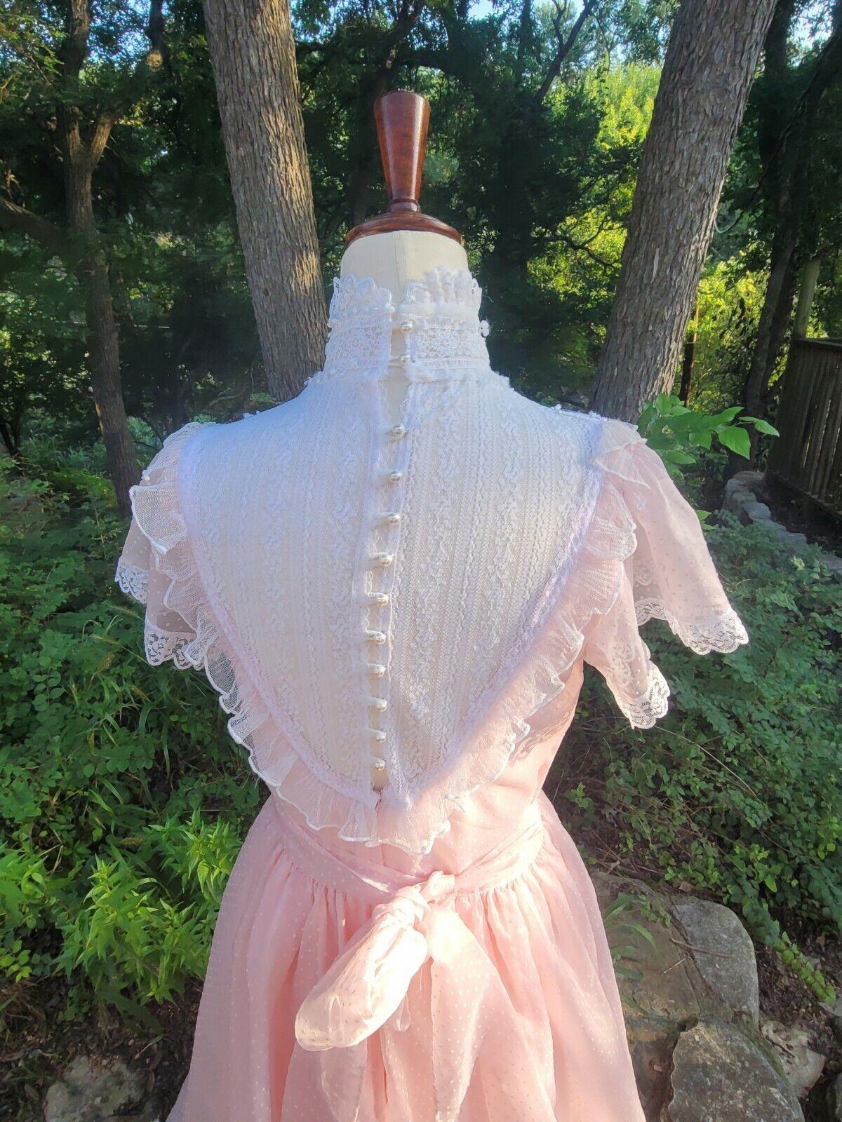 Vintage Gunne Sax Dress 9 princess Gunne Sax Swis… - image 2