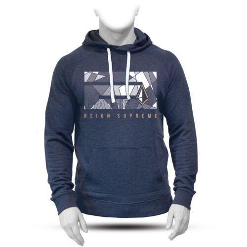 Ares Mens aGame Pull Over Hood Navy Marl For Crossfit