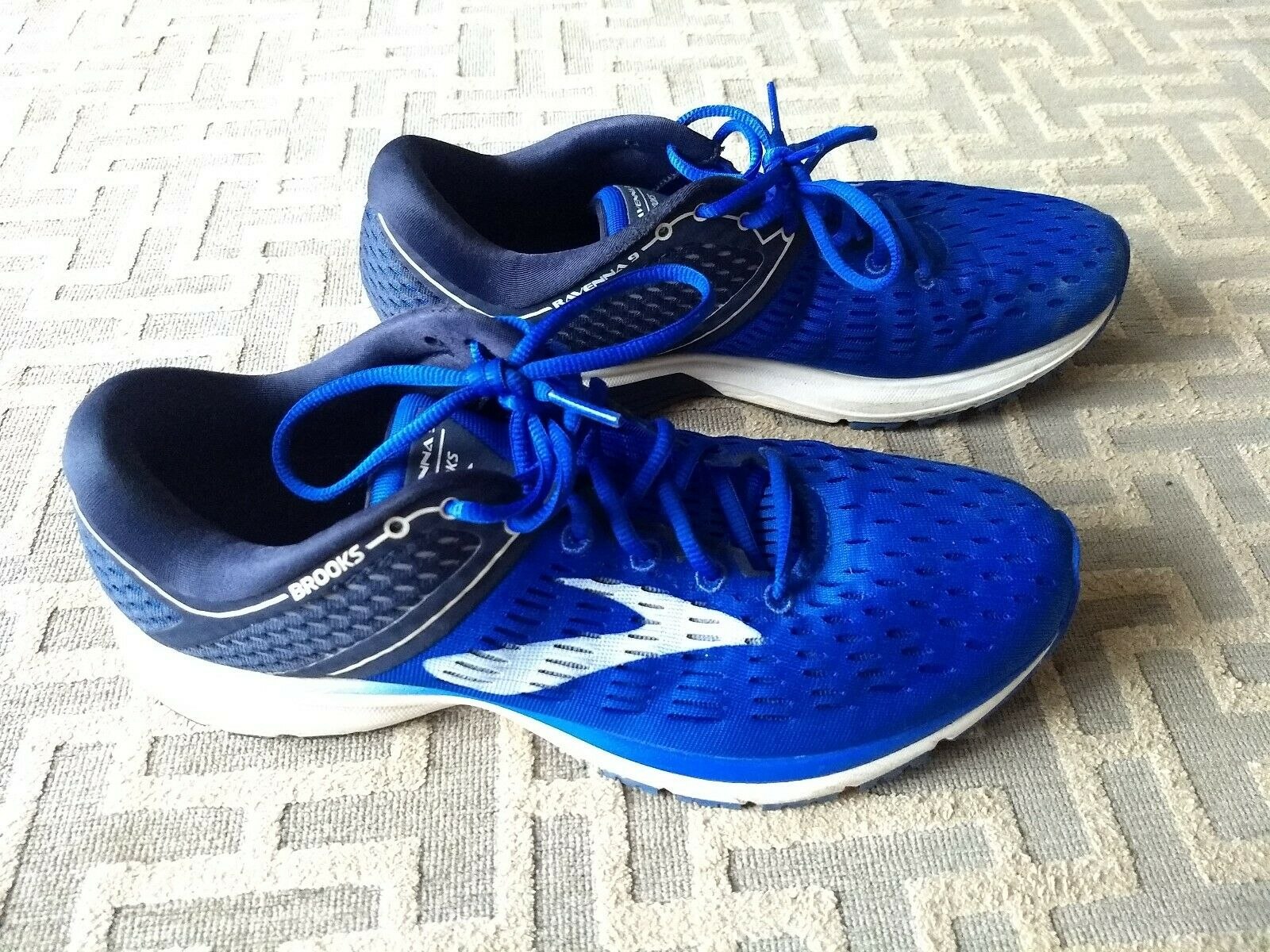 Men's Brooks Bredhers Ravenna 9 Running shoes bluee Sz 10