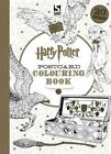 Harry Potter Postcard Colouring Book von Warner Brothers (2016, Taschenbuch)