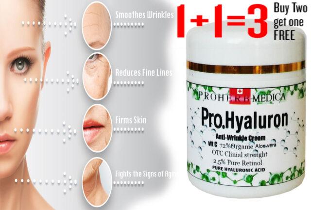 Anti Ageing Wrinkle Cream Hyaluronic Acid Matrixyl RETINOL Snail CREAM 50ml
