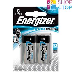 2-ENERGIZER-MAX-PLUS-C-LR14-BATTERIEN-ALKALINE-1-5V-BABY-R14-MN1400-AM2-E93-NEU