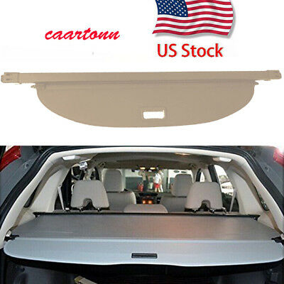 Beige Retractable Rear Cargo Cover Protector For Nissan Murano 2015-2018