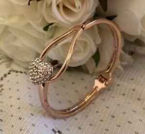 EQUILIBRIUM-HEART-BRACELET-BANGLE-ROSE-GOLD-wedding-gifts-from-bride-bridesmaid