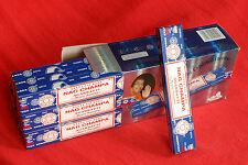 12 X 15 GM HERBAL  Nag Champa Original incense sticksSatya Sai Baba  India.