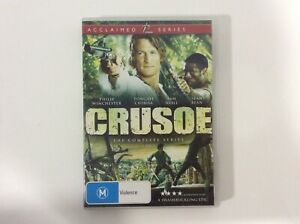 Crusoe-The-Complete-Series-3-Disc-Set-R4-Excellent-Condition
