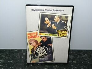 BLACK-RAVEN-DEAD-MEN-WALK-LIKE-NEW-DVD-REGION-4