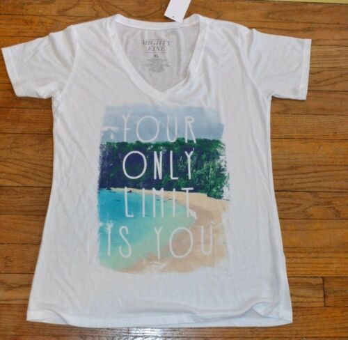 Your Only Limit Is YOU Short Sleeve V Neck Light Weight T-Shirt Super Soft Tee