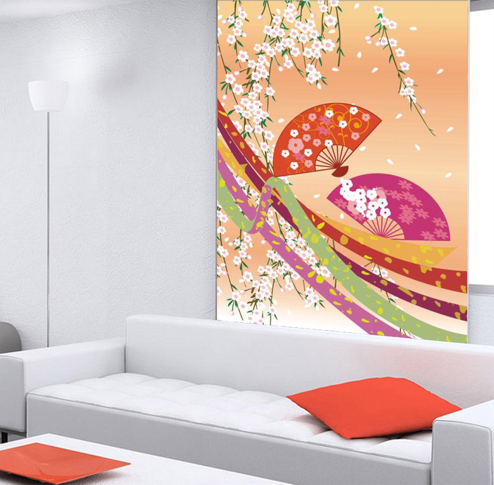 3D Cute Fan Flowers 75 Wall Paper Murals Wall Print Wall Wallpaper Mural AU Kyra
