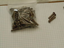25 Steel Round Head Rivets 316 X 1 Steampunk Blacksmith Tongs Handles