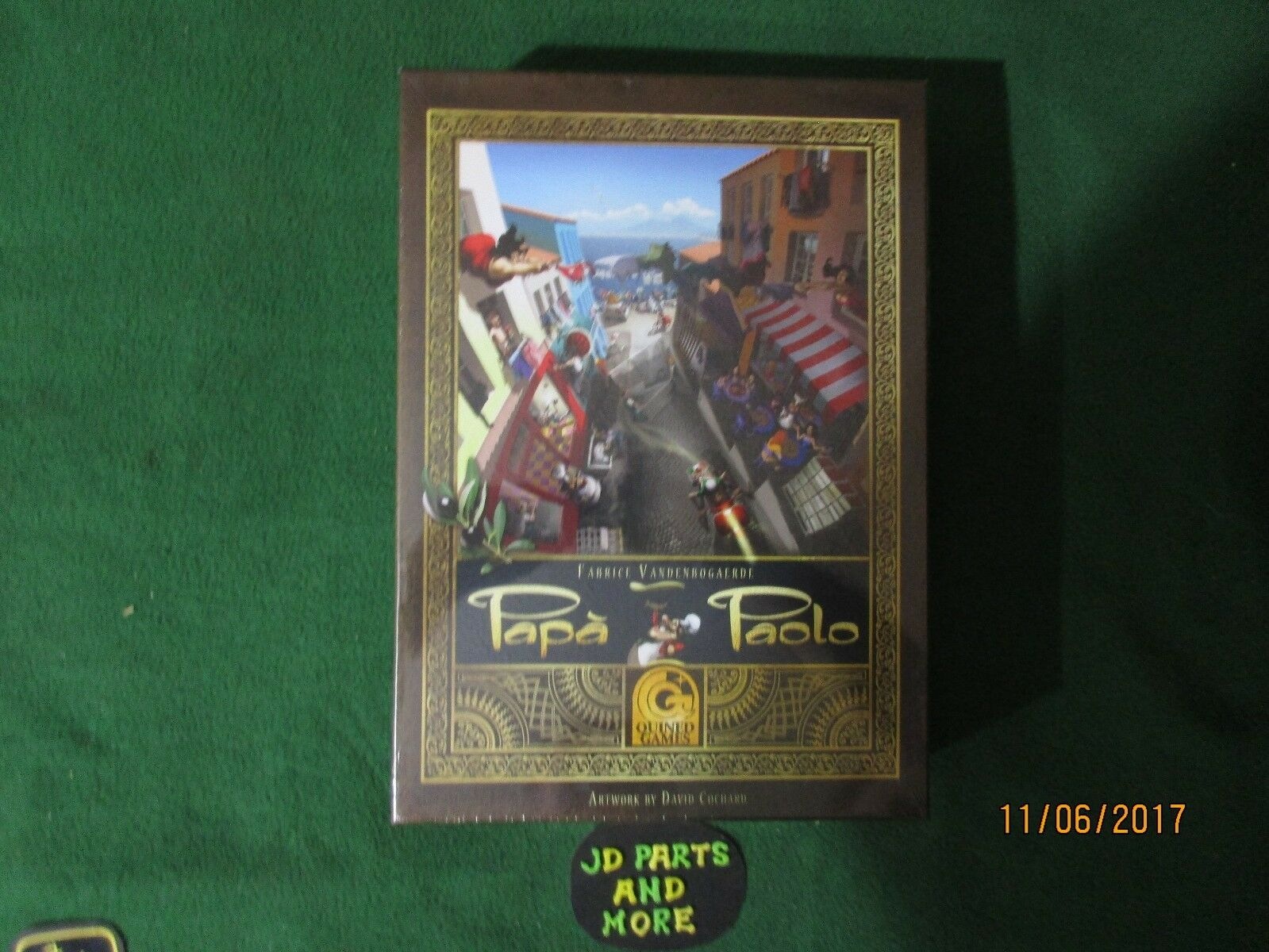 NEW SEALED UP QUINED GAMES  PAPA PAOLO