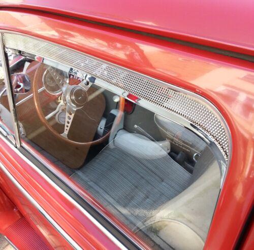 Ventana Válvula Molduras para VW Escarabajo Rejilla Regus Pulido 1964 Up Aac007