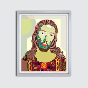 Art-Christ-Jesus-Poster-Religious-Painting-Christian-Wall-Decor-Print-Christmas
