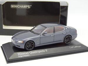 Minichamps-1-43-Maserati-Quattroporte-S-Grigio-Palladio