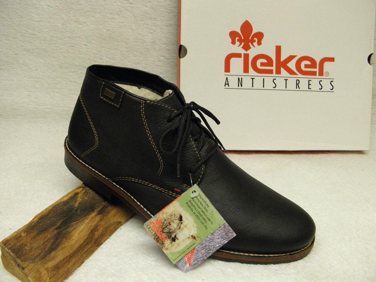 Rieker ® rojouce, hasta ahora de , botas + gratis premium-calcetines (d431)