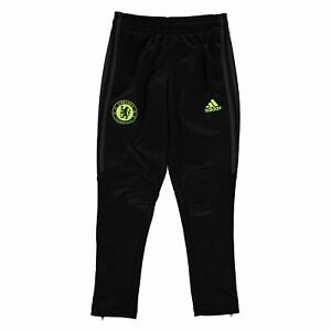 Pratique Adidas Enfants Garçons Chelsea Fc Pré Match Pantalon Junior Licence Performance-afficher Le Titre D'origine