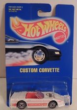 1993 Hot Wheels CUSTOM CORVETTE ~Rare on Blue Card #200!! *MOC*