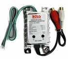 NEW BOSS B65N High Level to Low Level Converter + RCA Input Sensitivity Control