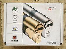MILLENCO MAGNUM SUPERIOR EURO CYLINDER LOCK - SECURE BY DESIGN - KEY 35/35
