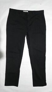 Pantalon noir W32 L30 zara