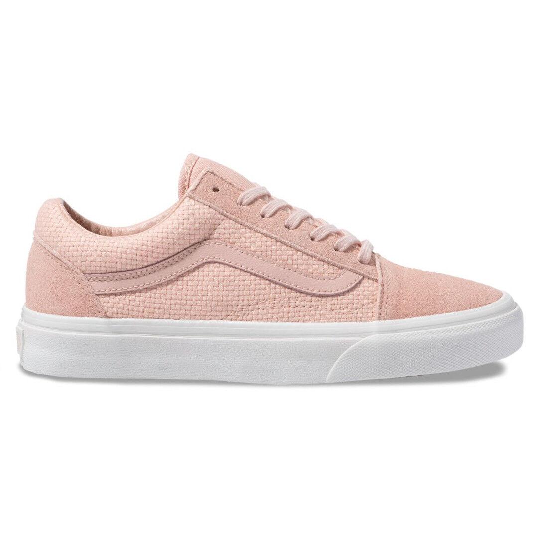 perfezionare Vans  Woven Check Check Check Old Skool  scarpe da ginnastica (Spanish Villa Snow bianca) Unisex scarpe  design semplice e generoso