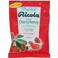 Ricola Cough Drops, Cherry Honey, 24 Ct (pack Of 24)