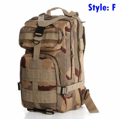 Sport Sac à épaules Sac de voyage Sac à dos tactique Sac à dos militaire