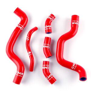 Red Silicone Radiator Hose Kit for Suzuki SV650 SV 650 K3 K4 K5 K6 K7 2003-2007