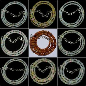 Natural Ethiopian Beads 18 Pcs Top Quality Natural Ethiopian Welo Fire Opal Gemstone Beads Size 3-5 MM