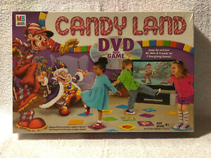 RARE-2005-Retro-Candy-land-DVD-Game-Hasbro-Bilingual-New-Sealed