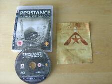 PLAYSTATION 3 GAME - RESISTANCE Fall Of Man   *Shooter*   *FREE UK P&P*