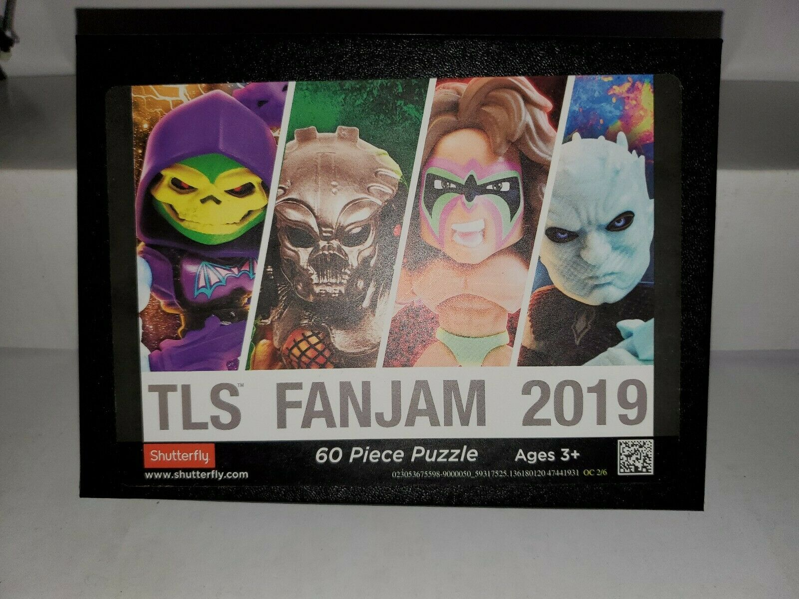 The Loyal Subjects Fan Jam Puzzle Swag SDCC 2019 60 Pieces completare