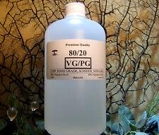 80/20 VG/PG VEGETABLE GLYCERIN &  PROPYLENE GLYCOL DIY. JUICE LIQUID 1 Qt./Quart